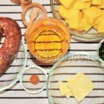 carnati de porc cu sos de vin