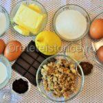 tort de nuci cu crema de ciocolata