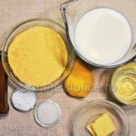 mamaliga prajita cu zahar sau marmelada