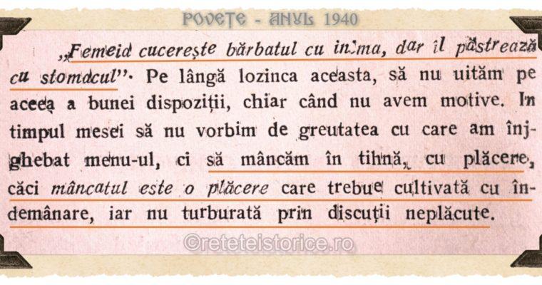 POVETE – anul 1940