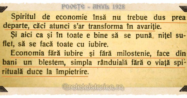 POVETE – anul 1928