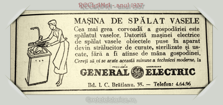 RECLAMA – anul 1937
