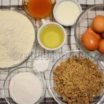 prajitura cu marmelada si nuci